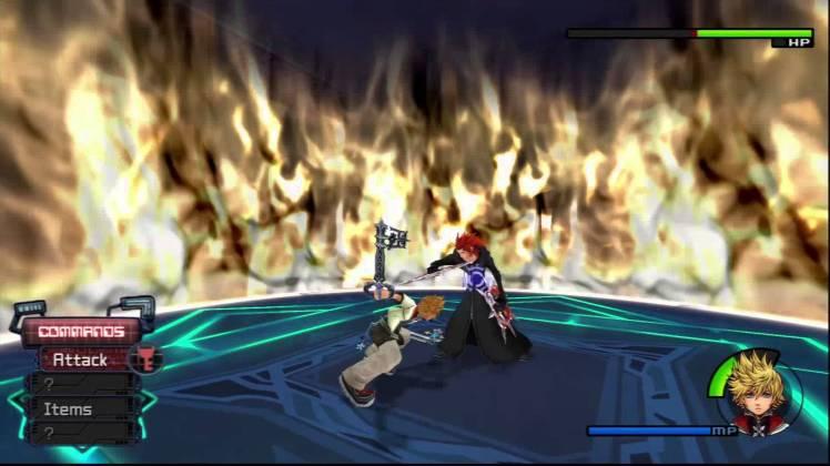 KH 2 Roxas vs Axel