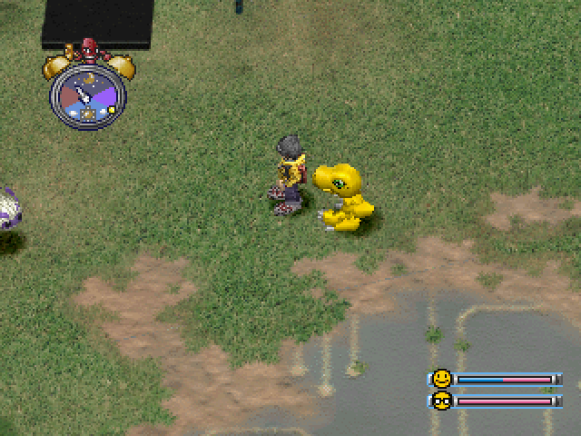 Digimon World 1 Agumon File City