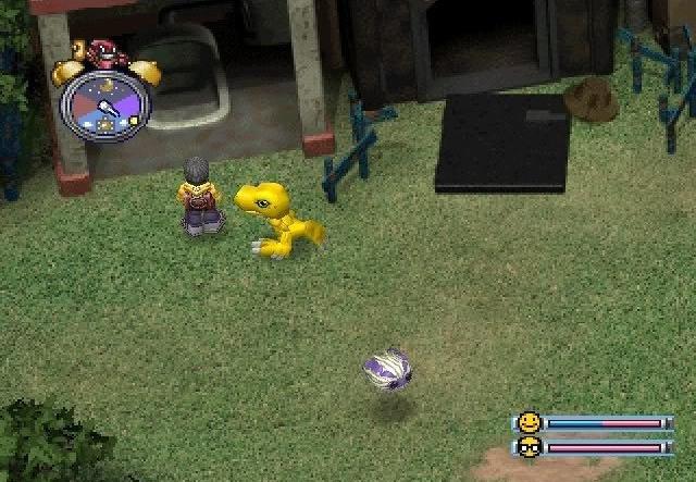 Digimon World Agumon toilet
