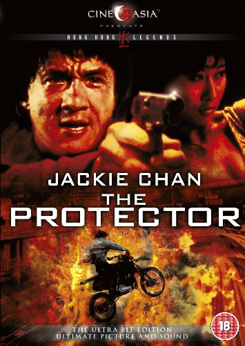 The Protector Jackie Chan DVD Cover