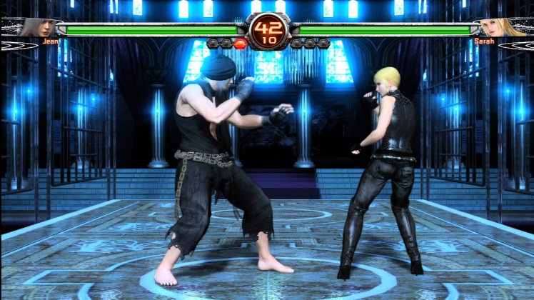 Virtua Fighter 5 Final Showdown Jean Kujo vs Sarah Bryant