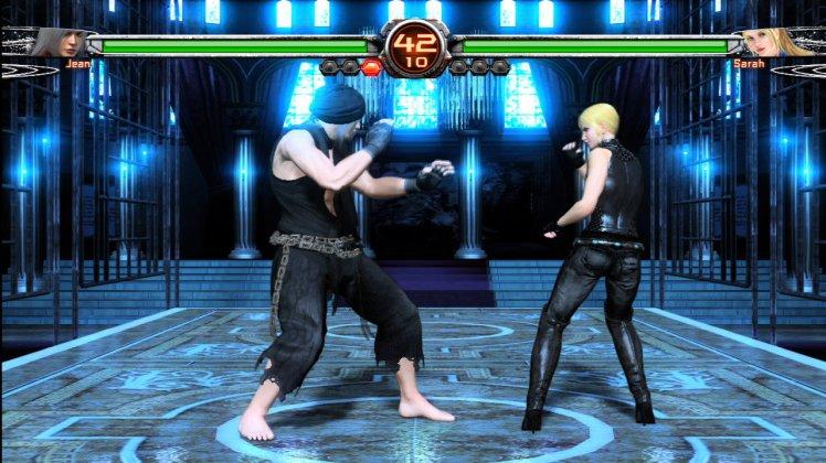 Virtua Fighter 5 Final Showdown Jean Kujo vs Sarah Bryant