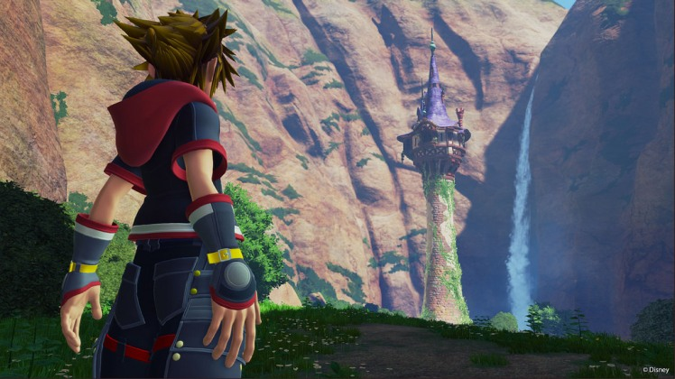 Kingdom Hearts 3 Tangled World