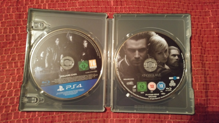The Final Fantasy XV game and the Kingsglaive film.