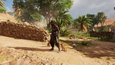 Cats love Bayek