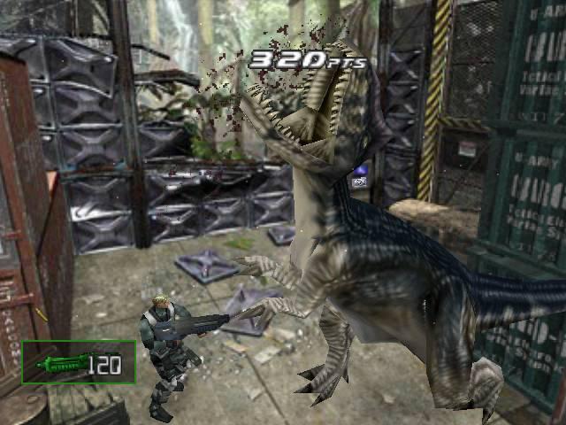 Dino Crisis 2 Screen