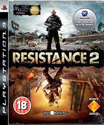 Resistance 2 Box Art