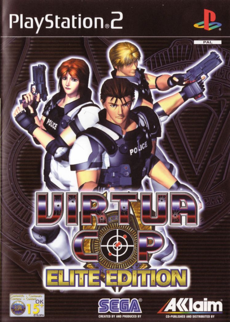 Virtua Cop Elite Edition Front Cover EU