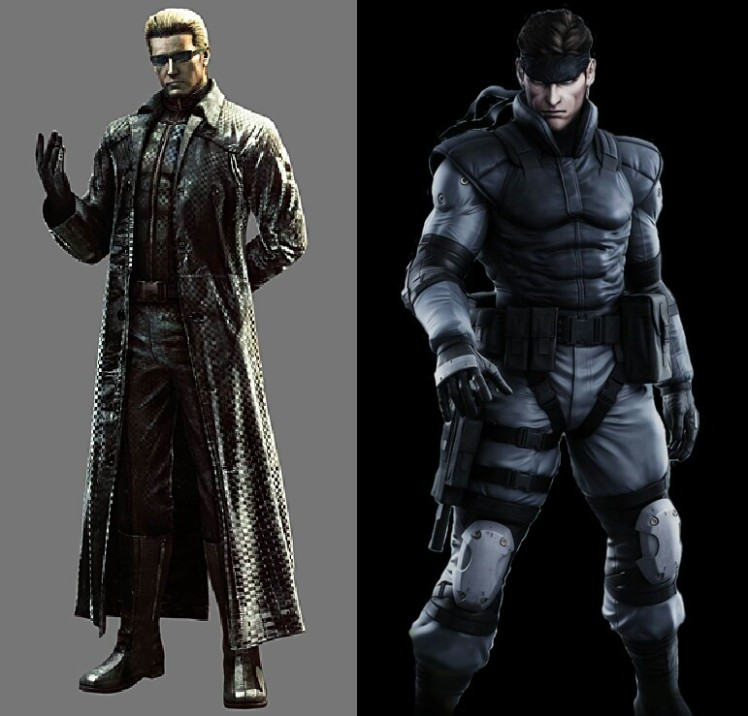 Albert Wesker vs Solid Snake.jpg