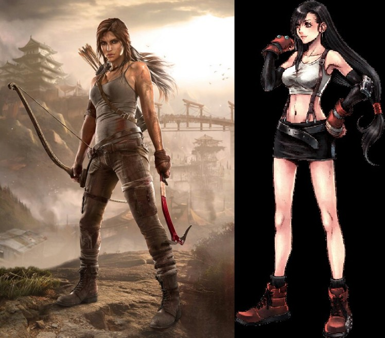 Lara Croft vs Tifa Lockhart.jpg