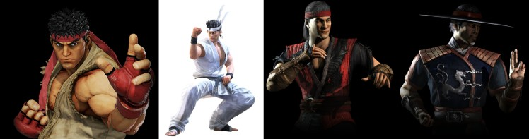 Ryu and Akira Yuki vs Liu Kang and Kung Lao.jpg