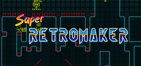 Super Retro Maker Steam Page BANNER