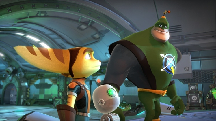 Ratcet and Clank Q Force screenshot