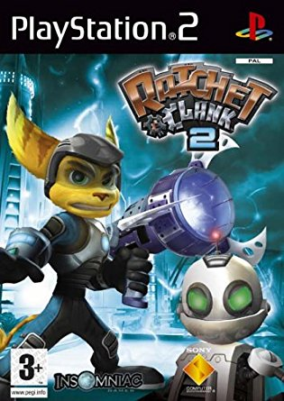 Ratchet and Clank 2 box art