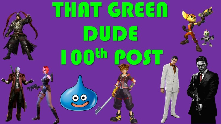 That Green Dude 100th post