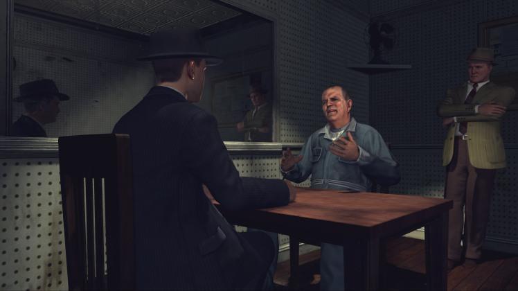 LA Noire PS4 screenshot