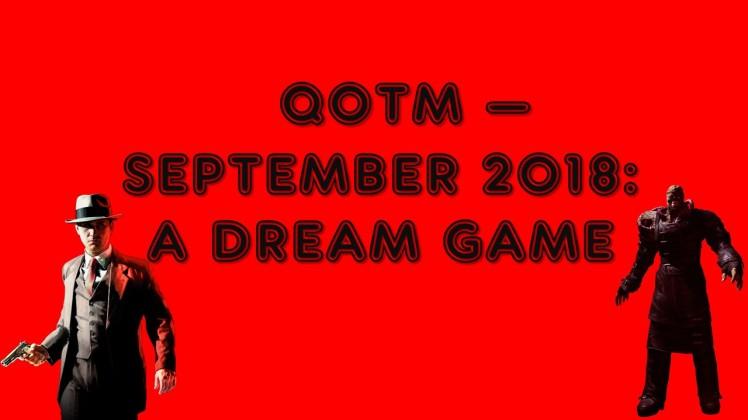 QOTM - September 2018