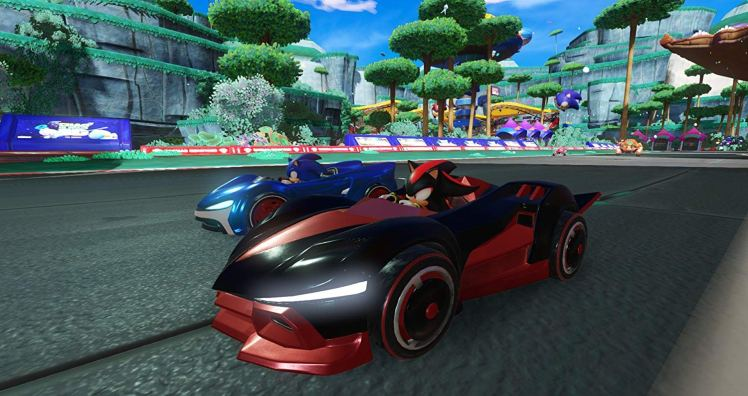 Team Sonic Racing screen