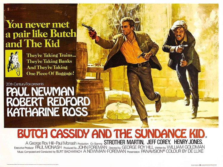 butch cassidy and sundance poster