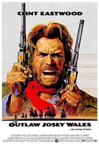 Outlaw Josey Wales poster