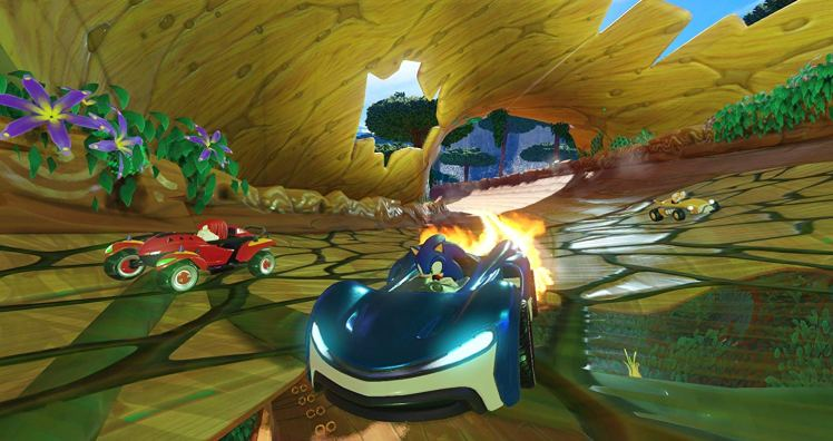 Team Sonic Racing screen 2