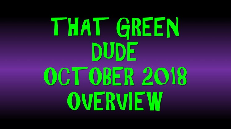 TGD October 2018 Overview