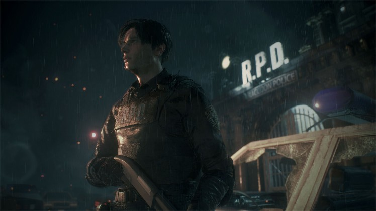 re2 remake screen 1