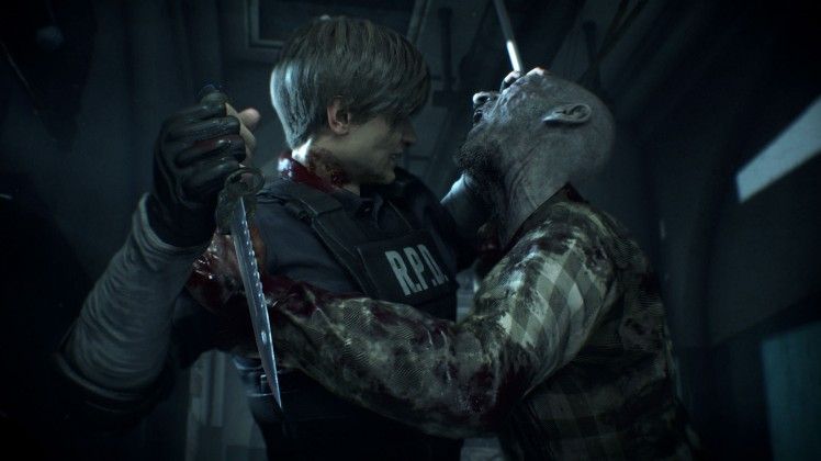 re2 remake screen 4