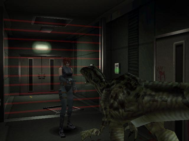 Dino Crisis 1 screen 1