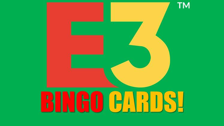 E3 2019 Bingo Cards