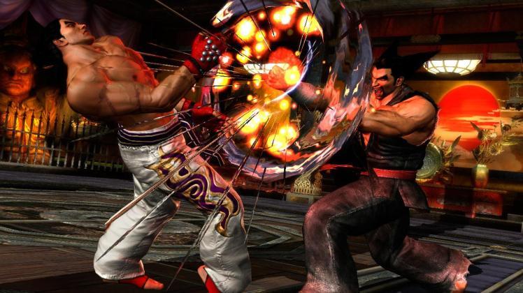 Tekken Tag 2 screen