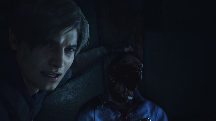 RE2 REMAKE SCREEN