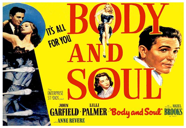 Body and Soul movie poster