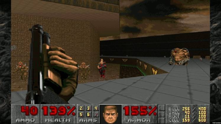 doom 2 screen