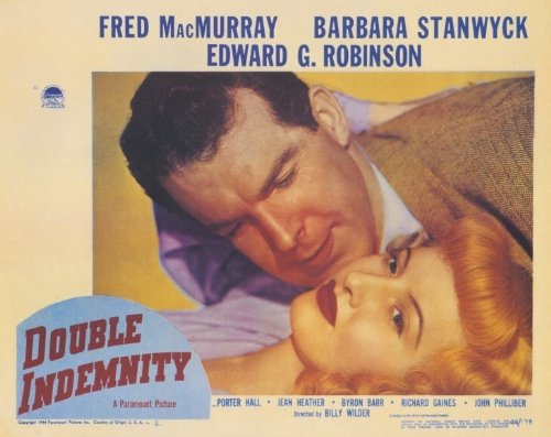 Double Indemnity poster