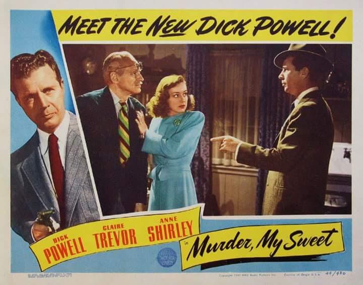 Murder My Sweet Poster