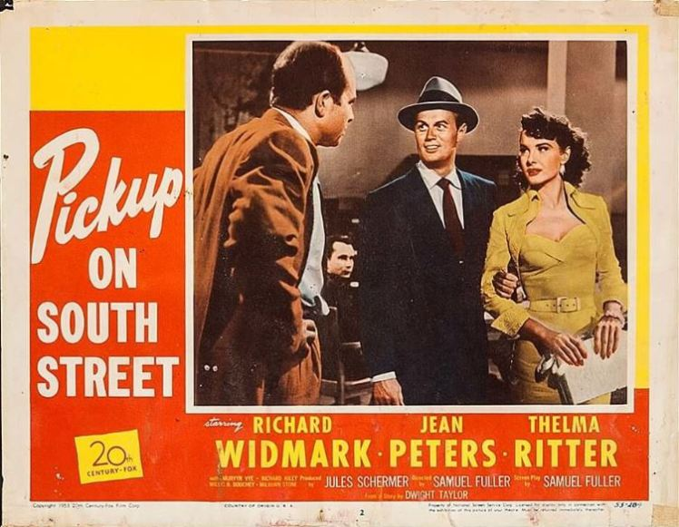 Pickup on South Street poster