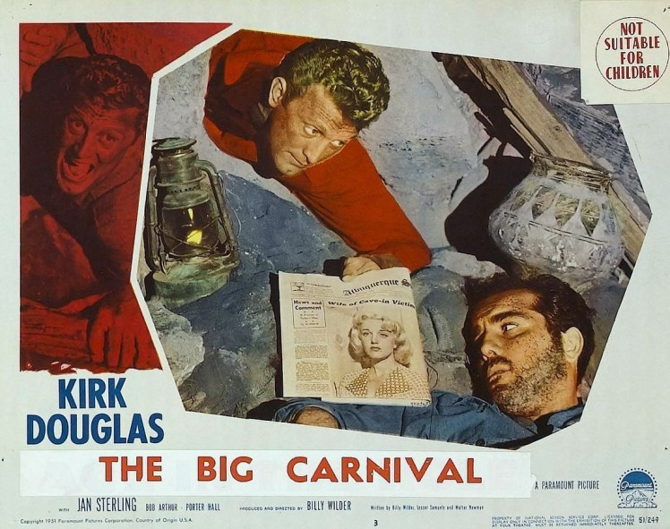 The Big Carnival movie poster