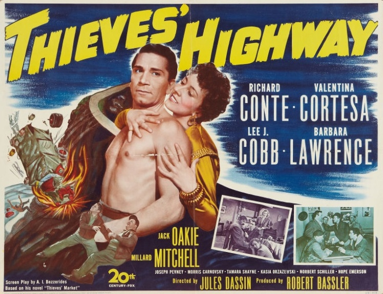 Thieves Highway poster